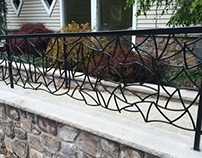 Original Black Steel Railing