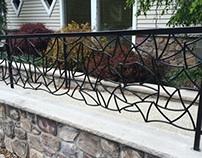 Original Black Steel Railing