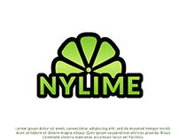 Nylime lemon Logo Design