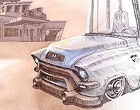 Kustom GMC 100 - Extended Pickup (1955)