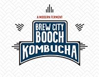 Brew City Booch Drink Packaging Label
