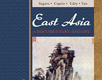 East Asia: A Documentary History Book Cover Design