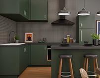 Paris Apartment - Archviz