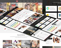 Responsive One Page Website (Bootstrap)