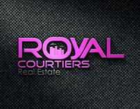 Royal Courtiers Real estate Logo design