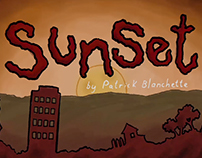 Sunset - Pixel Animation Challenge 2015