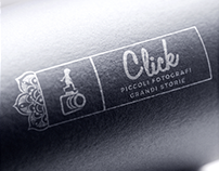 Click - Small Photographers Great Stories | LOGO DESIGN