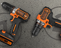 BLACK+DECKER - 20v Compact Drill Family
