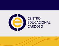 Escola Cardoso - Marca, Fardamento e Fachada