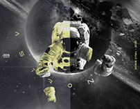 Astronaut Poster / Design Collection 005