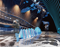 "Exhibition Design - ""Natural Echo"" Virtual Theme Pavili"