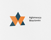 Logo and stationery for Wroclaw Agglomeration