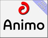 Animo (Font Family) + Free Demo