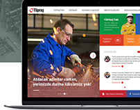 Tüpraş Web Design