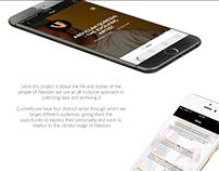 My Voice Unheard App UI