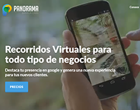 Google Business View photo services webpage