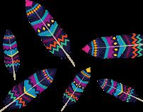 Aztec Feather