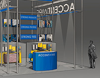 Trade show booth design skethches