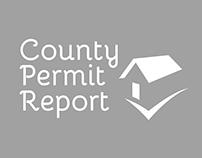 Logo Design - County Permit Report