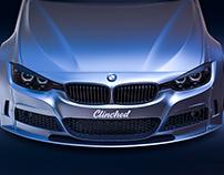 BMW F30. Clinched. Visualization