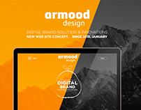 ARMOOD DESIGN - WEB CONCEPT