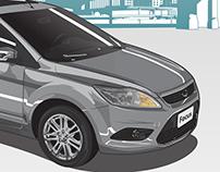 Ilustração - Ford Focus