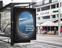 ANA Airline Brand System Rebrand / Branding