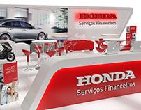 Concept de stand da Honda Serviços Financeiros
