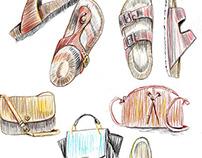 PENCIL / Editorial Fashion Illustrations