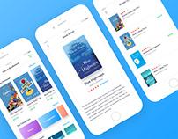 Venus Bookstore IOS App Concept Design