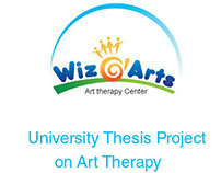 Wizarts Art therapy campaign Design---University Thesis