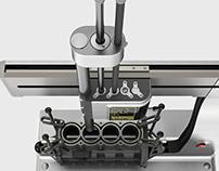 BURAN Cylinder-boring machine
