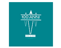 Logo Design for 100th Anniversary of AEROCLUB COMO