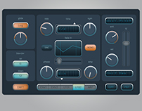 User interface for audio lab