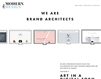 The Modern Design Website Design