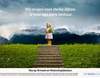 WATERSCHAPSVERKIEZING 2015 CAMPAGNE (klik en scroll)