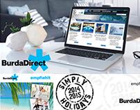 BURDADIRECT - WEB Design