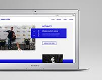 Karel Kašák web design