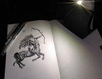 "30 Days Of Art ""InkTober"""