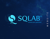 SQLab – website design