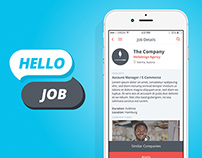 Hello Job App UI