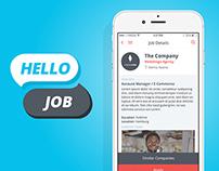 Hello Job App UI