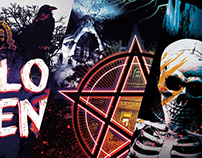 Halloween Poster Designs