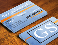 Business Card for Georgia Standard