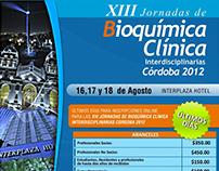 XIII Jornadas de Bioquímica Clínica Córdoba