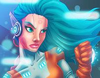 Sci Fi Girl