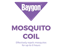 Baygon Mosquito Coil Brochure - School Project