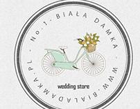 Logotyp Biała damka