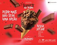 Ice Creamy Sorvetes | Campanha Sorvete na Pedra