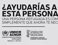 Campaña Sensibilización Refugiados ACNUR